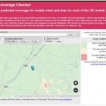 OFCOM Mobile Coverage Checker